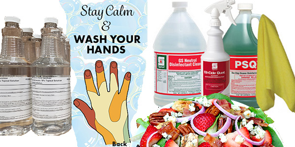 HDi Advantage April 2020, Handwashing, hand sanitizer and proper coronavirus disinfecting