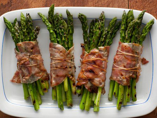 HDi Recipe Bacon Wrapped Asparagus Bundles