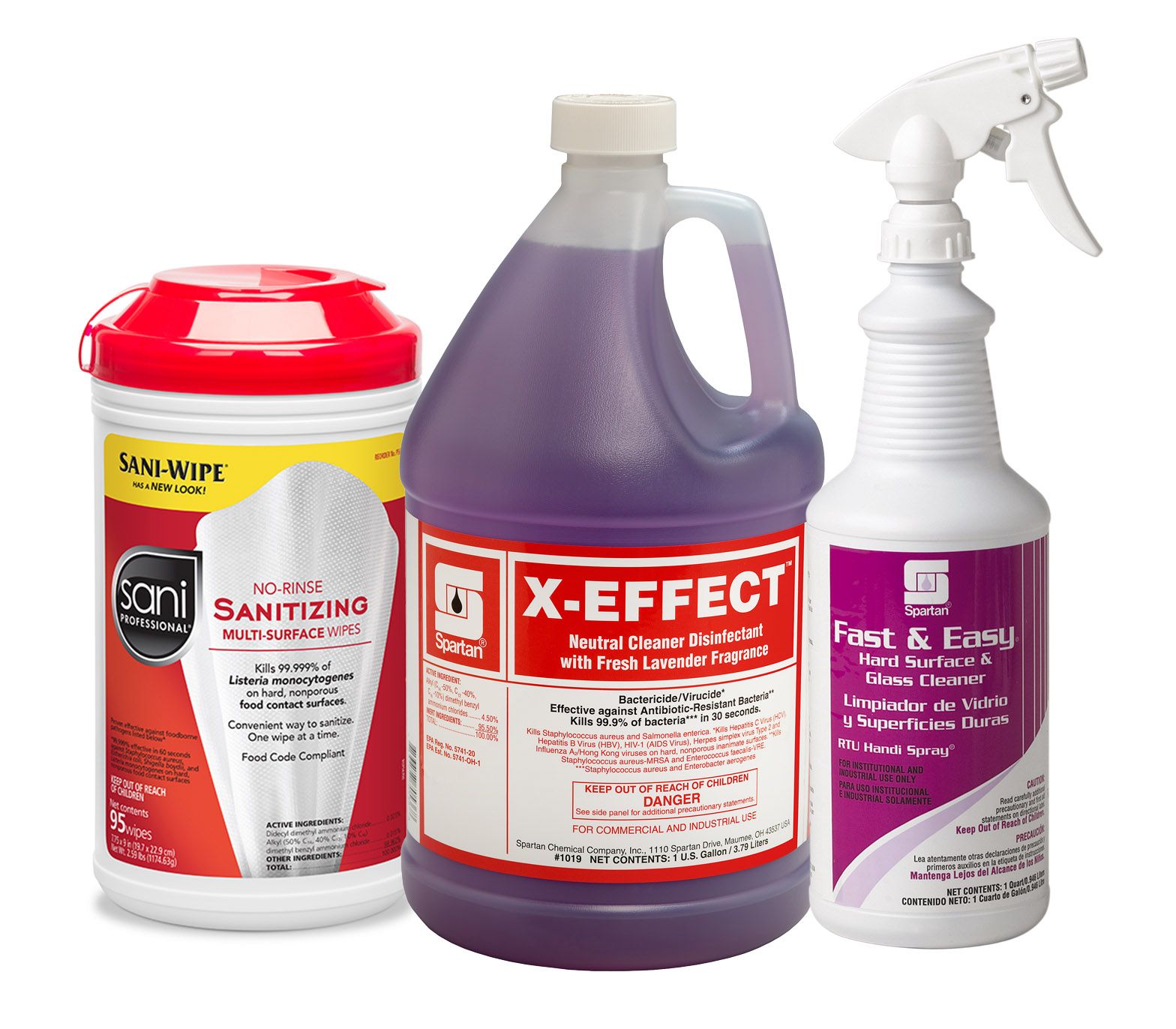 HDi Disinfectants and Sanitizers