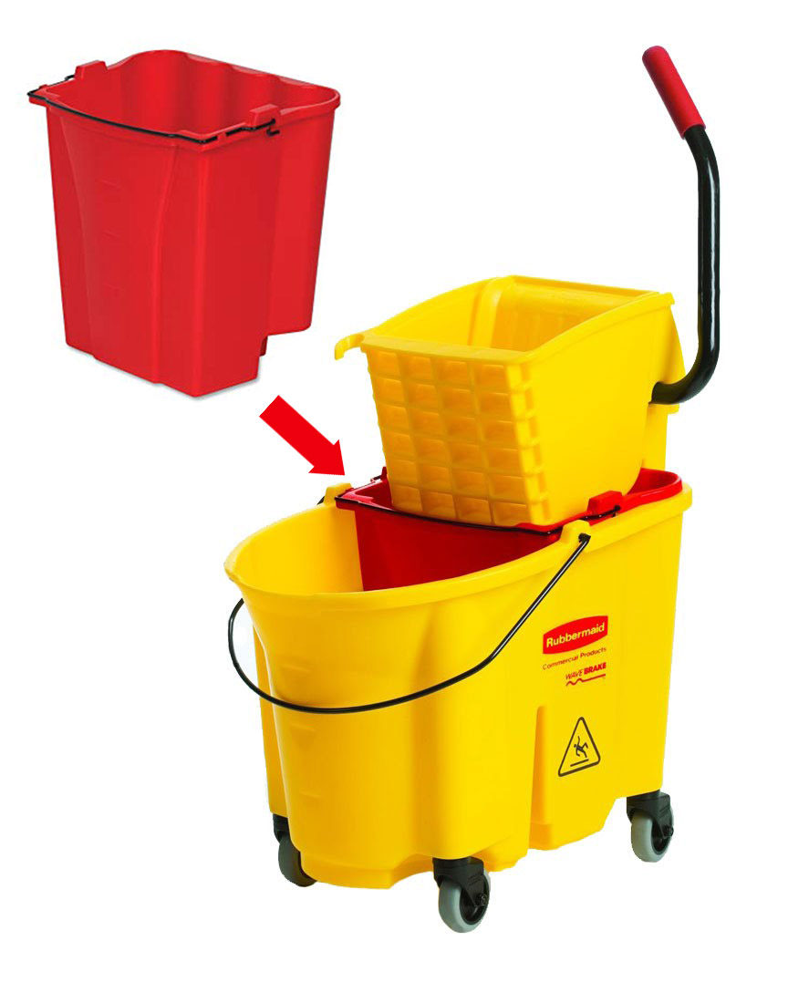 HDi Dirty Water bucket for mop bucket combos