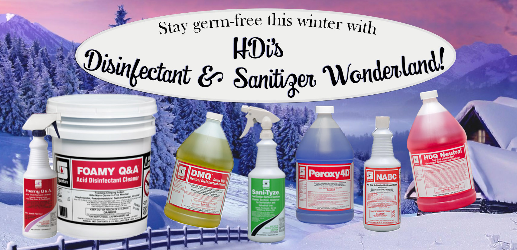 HDi Disinfectant Wonderland