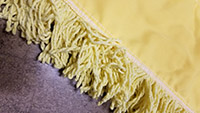 dust mop closeup