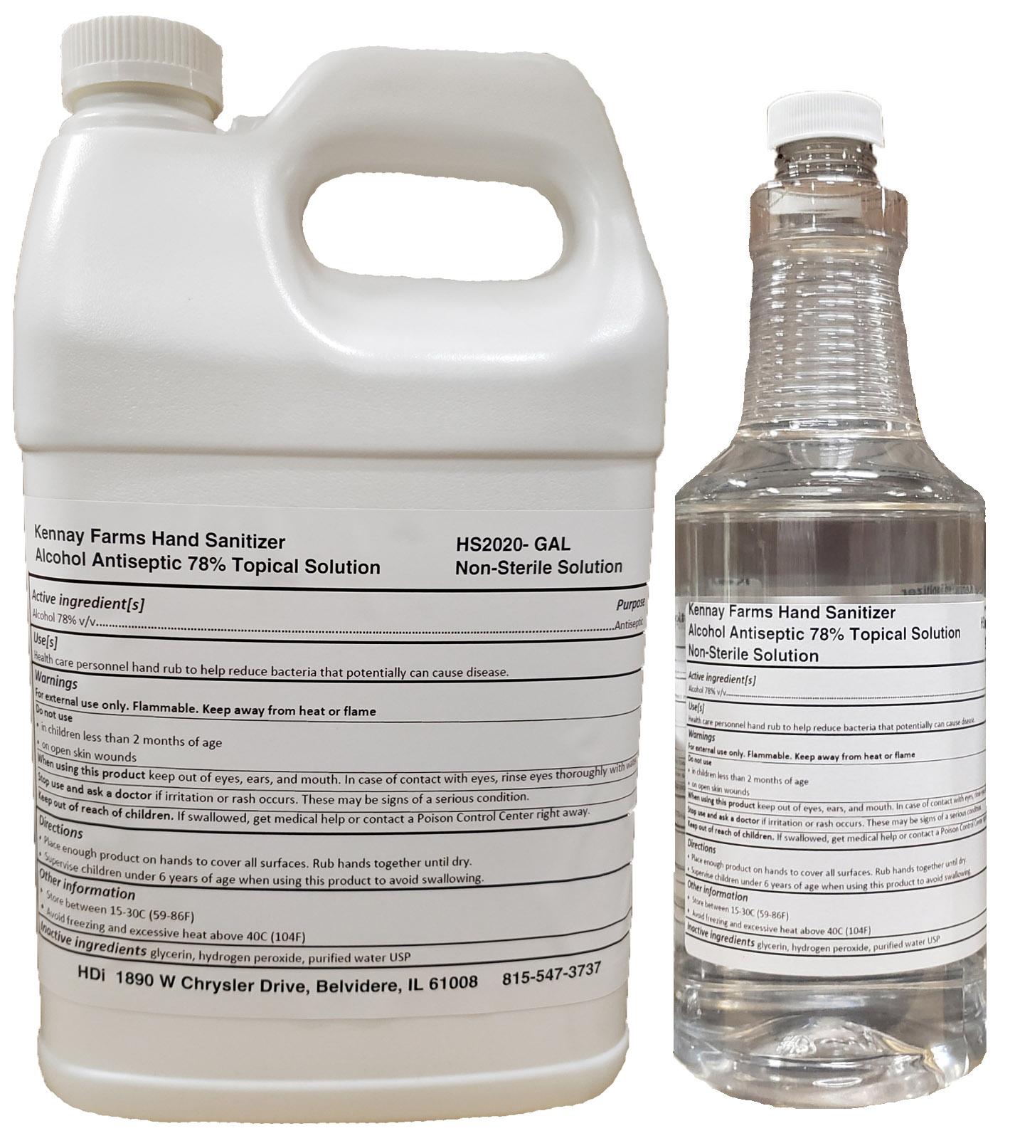 HDi Antiseptic hand sanitizer