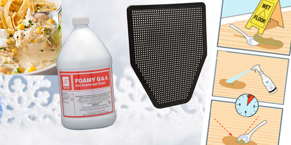 HDi Advantage January 2019, Urigard Urinal Mats, Favorite product foamy q&a, How to remove carpet spots, White chicken chili recipe, snow and ice melt