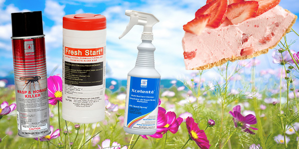 HDi Advantage Newsletter June 2018- Wasp Spray, New Fresh Start antibacterial wipes, Xcelente multi-purpose cleaner and odor eliminator