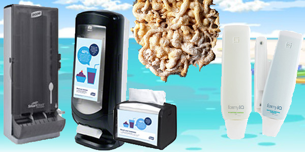 HDi Advantage Newsletter June 2020- Smartstock cutlery dispensers, xpressnap napkins, FoamyiQ, Funnel Cake