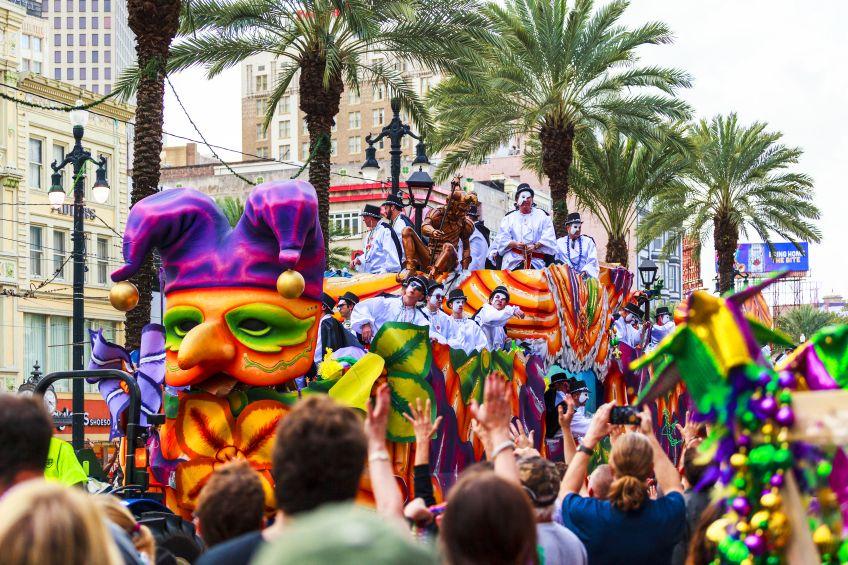 HDi Mardi Gras Float