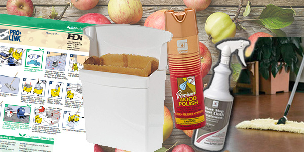 HDi Advantage Newsletter September 2017- Furniture polish, dust mops, sanitary receptacles, janitorial charts and procedures