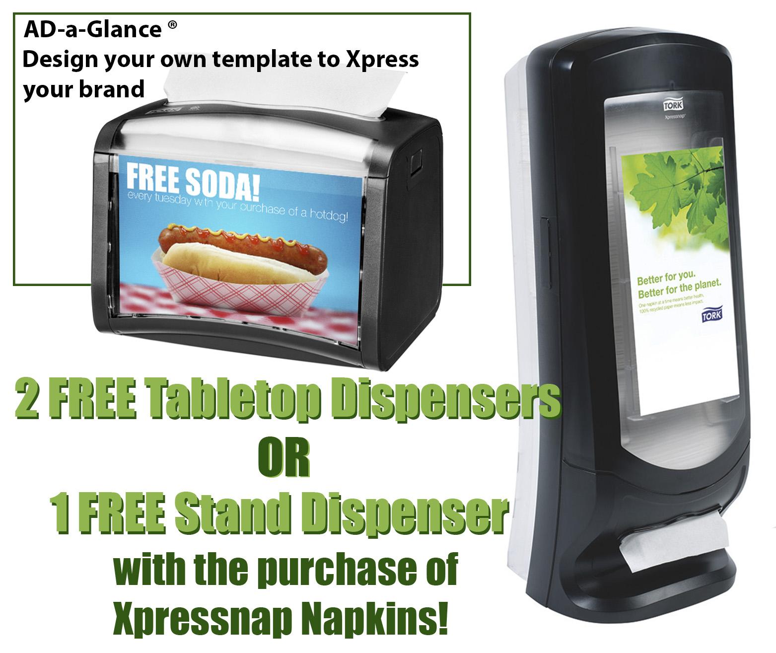 HDi Xpressnap Dispensers