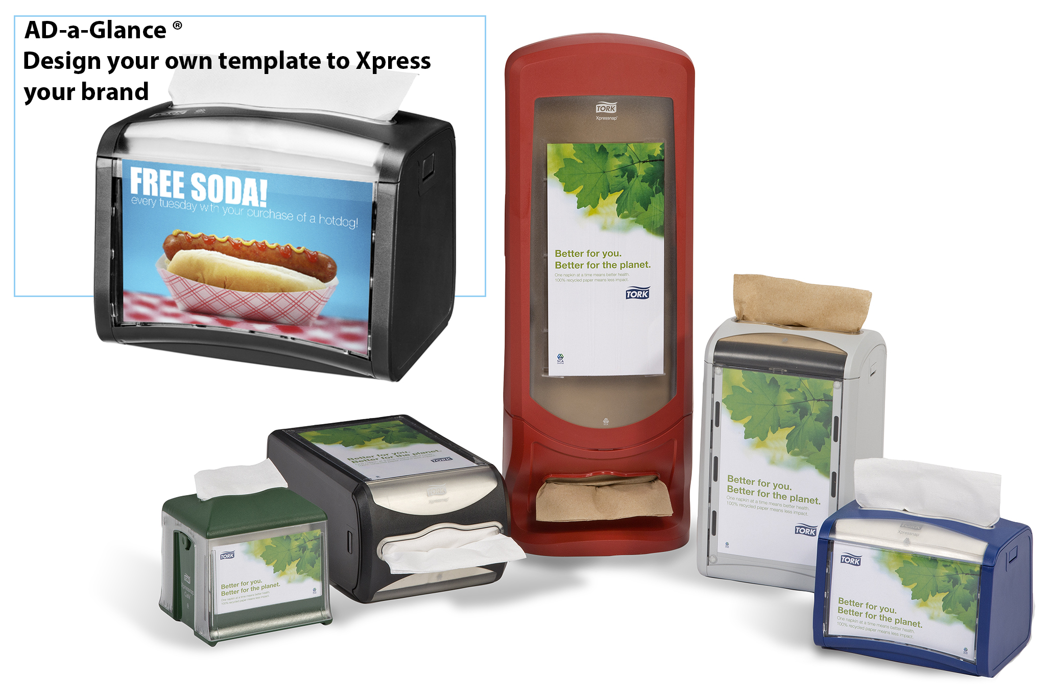 HDi Xpressnap napkin Dispensers