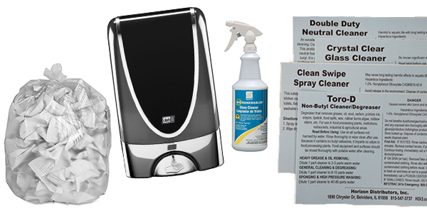 HDi Advantage Newsletter April 2016-  Liners 101, BioCote dispensers, Bio-Renewables Glass Cleaner