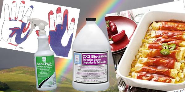 HDi Advantage April 2017, Handwashing, sanitizing vs disinfecting, sani-tyze, CX3 Bio-Assist Extraction Cleaner