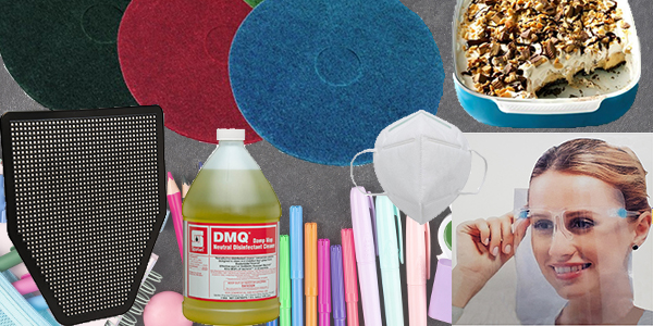 HDi Advantage Newsletter August 2021- Learning the colors of floor pads, disinfectant floor cleaner, Urinal mats, face masks and face shields, peanut butter custard blast