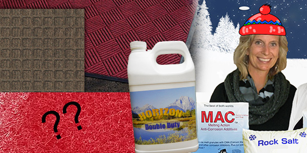 HDi Advantage Newsletter December 2017- Matting, Double Duty Neutral Floor Cleaner, Ice Melt, guess the item