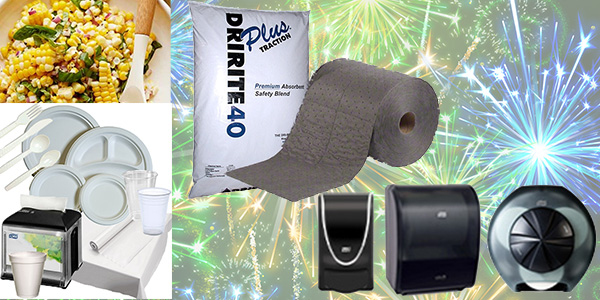 HDi Advantage Newsletter July 2019- Company Picnic Time, Absorbent materials, free dispensers, Corn salad