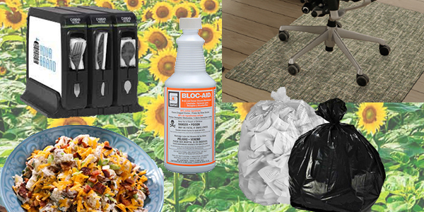 HDi Advantage Newsletter July 2021- Dixie Wrapped Smartstock Cutlery, Liners 101, Bloc-Aid Drain Maintainer, Chair Pads, Loaded Baked Potato Salad