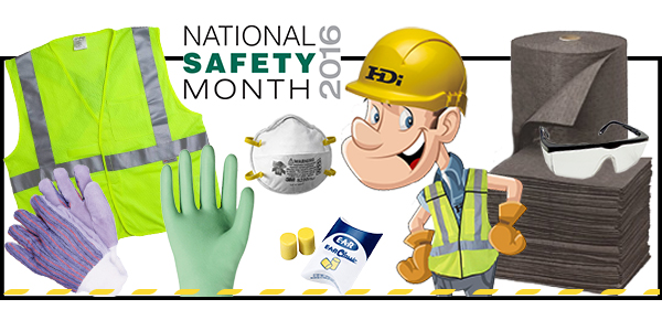 HDi Advantage Newsletter June 2016-  National Safety Month, Eye Safety Checklist, GHS Deadline, Sweet and Spicy Ribs
