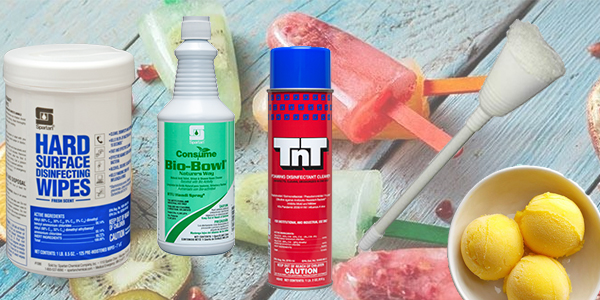 HDi Advantage Newsletter June 2021- BioBowl, TnT, Cone Bowl Mops, Spartan Disinfecting Wipes and Mango Sorbet