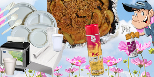 HDi Advantage Newsletter May 2017- Company Picnic Supplies, Restroom Re-Do for A No-No, Stop Pests In Their Tracks, Campfire Apple Crisp, Clean Hard Surfaces Fast & Easy