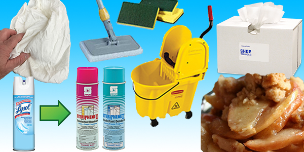 HDi Advantage Newsletter September 2016-  The right cleaning tools, product swap to save money, we carry wipers and rags