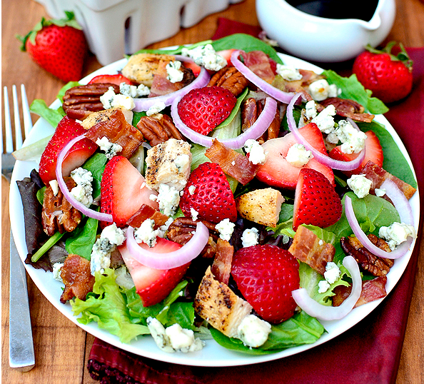 HDi Strawberry Fields Salad