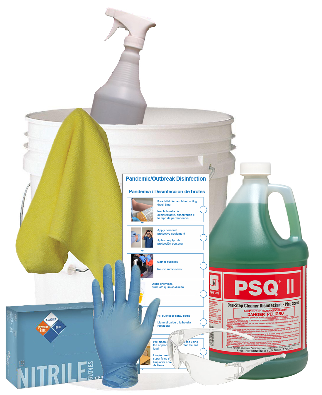 HDi Coronavirus Disinfectant kit